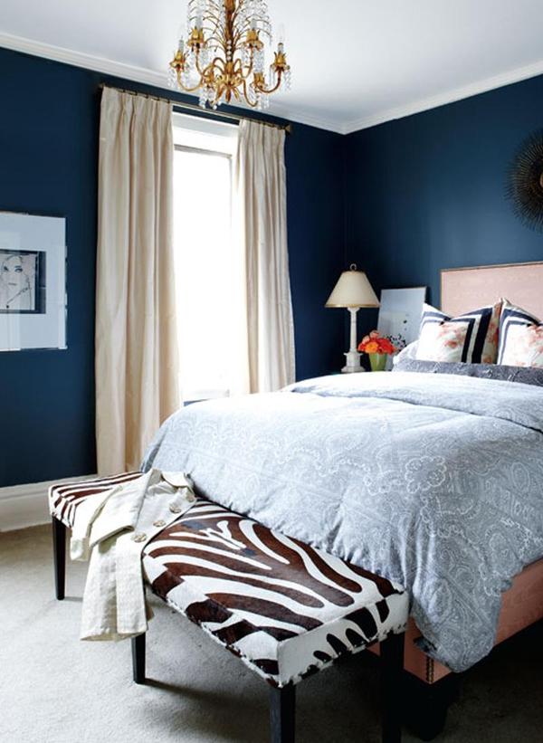 11 mẫu phòng ngủ dành riêng cho tín đồ màu xanh  2
