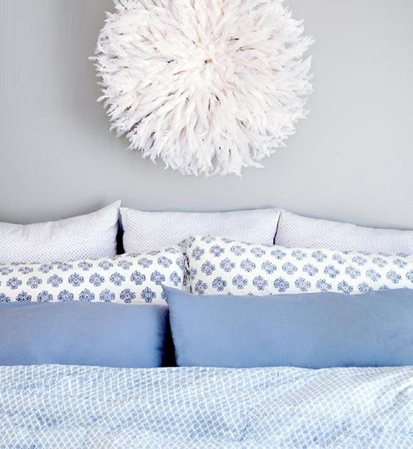 11 mẫu phòng ngủ dành riêng cho tín đồ màu xanh  6