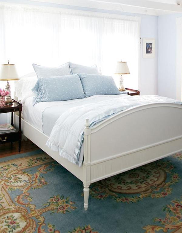 11 mẫu phòng ngủ dành riêng cho tín đồ màu xanh  4