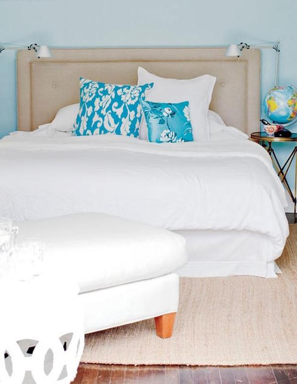 11 mẫu phòng ngủ dành riêng cho tín đồ màu xanh  7