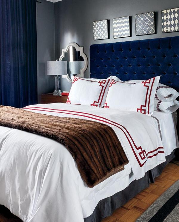 11 mẫu phòng ngủ dành riêng cho tín đồ màu xanh  9