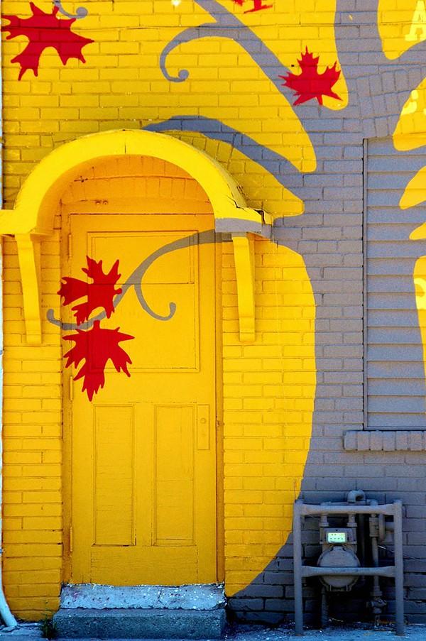 Những cánh cửa nhà ngập tràn màu sắc trên thế giới 12