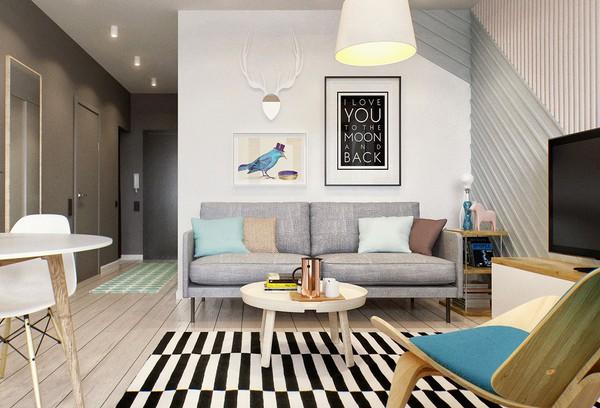 Hai mẫu căn hộ nhỏ đáng khao khát cho vợ chồng trẻ 1