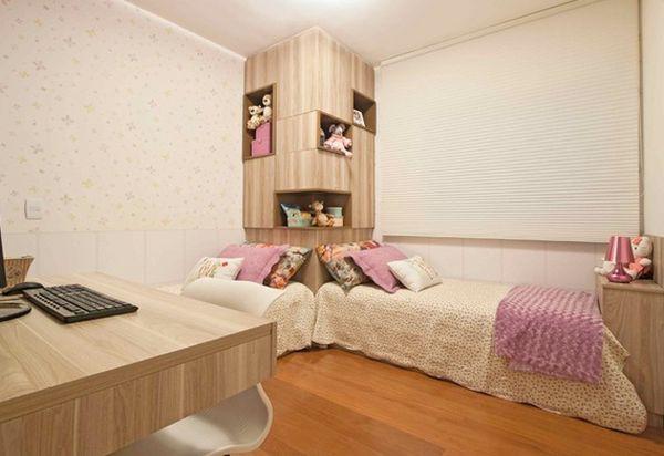 Những kiểu giường góc phù hợp với phòng ngủ nhỏ 8