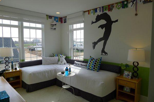 Những kiểu giường góc phù hợp với phòng ngủ nhỏ 6