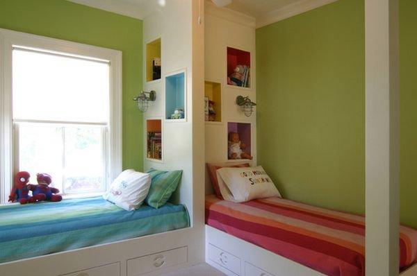 Những kiểu giường góc phù hợp với phòng ngủ nhỏ 7