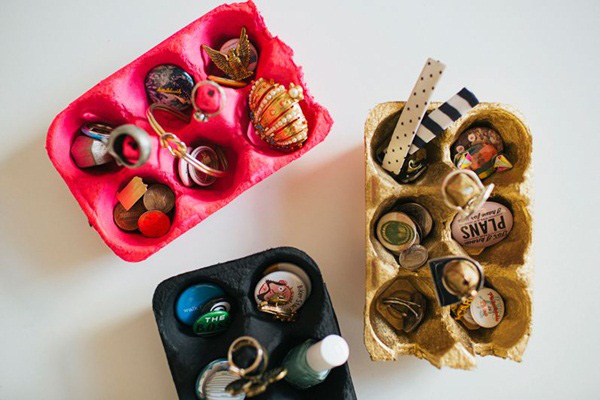 Tận dụng hộp đựng trứng trang trí nhà cực đẹp 5
