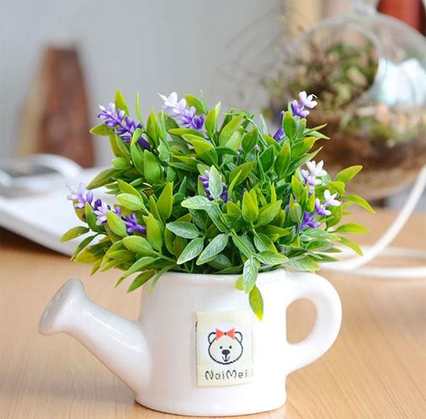 Kết quả hình ảnh cho chậu hoa để bàn đẹp