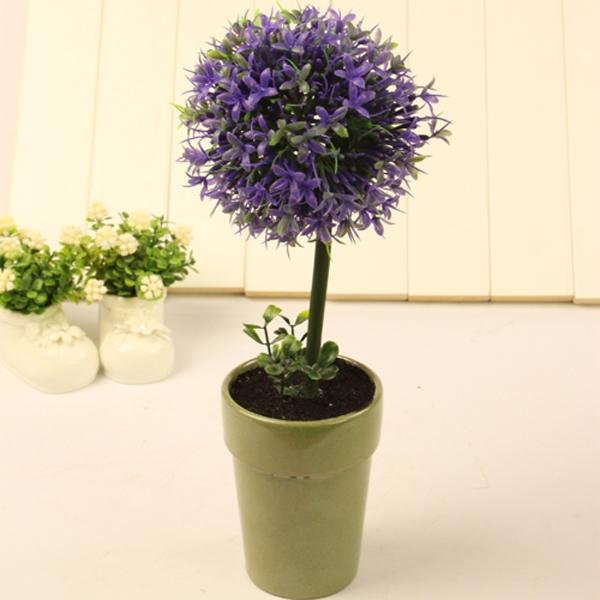 Mẫu chậu hoa để bàn công sở xinh xắn có giá dưới 200 nghìn đồng 12