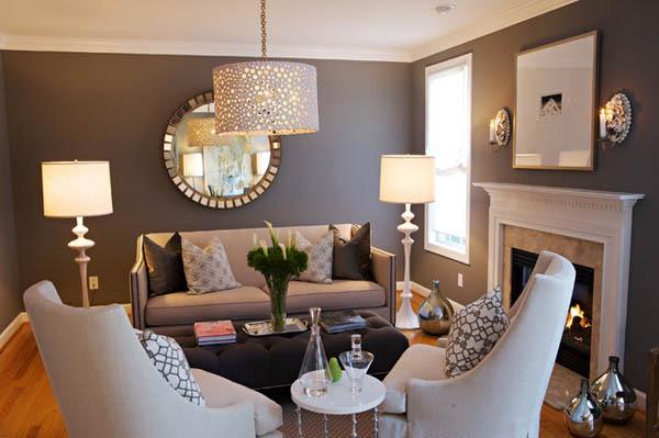 14 ý tưởng thiết kế và trang trí cho phòng khách nhỏ  1