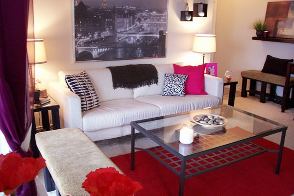 14 ý tưởng thiết kế và trang trí cho phòng khách nhỏ  10