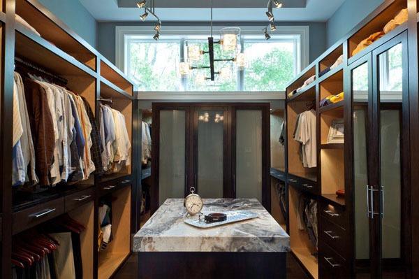 Mẹo thiết kế ánh sáng cho tủ quần áo, phòng thay đồ  11