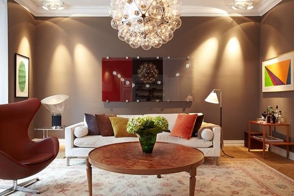 14 ý tưởng thiết kế và trang trí cho phòng khách nhỏ  12