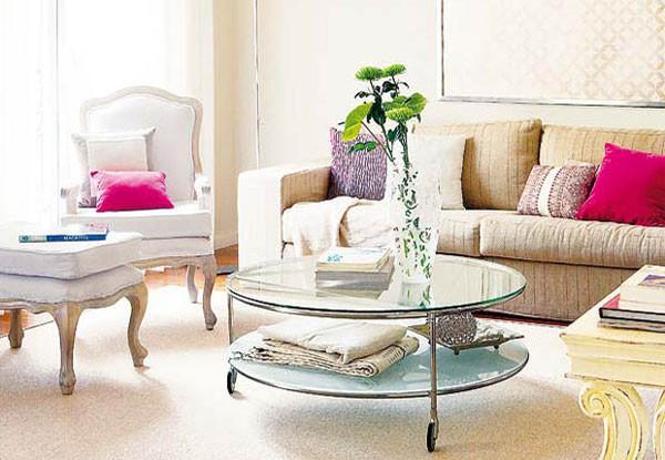 14 ý tưởng thiết kế và trang trí cho phòng khách nhỏ  13