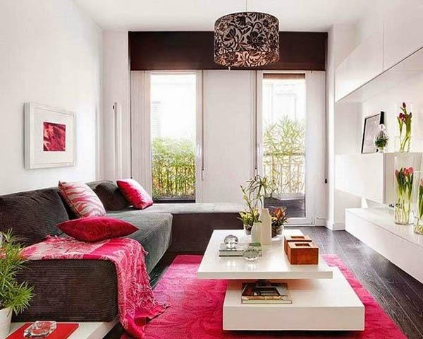14 ý tưởng thiết kế và trang trí cho phòng khách nhỏ  14