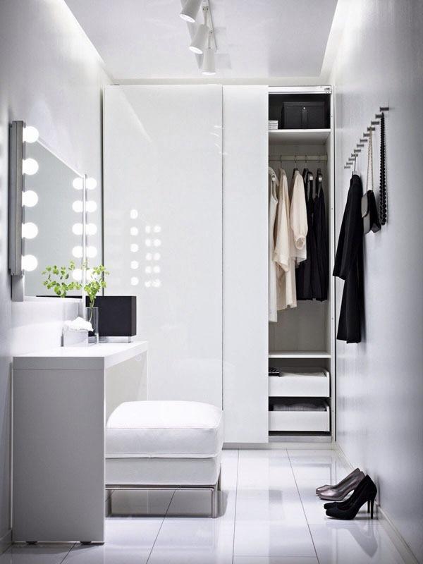 Mẹo thiết kế ánh sáng cho tủ quần áo, phòng thay đồ  3