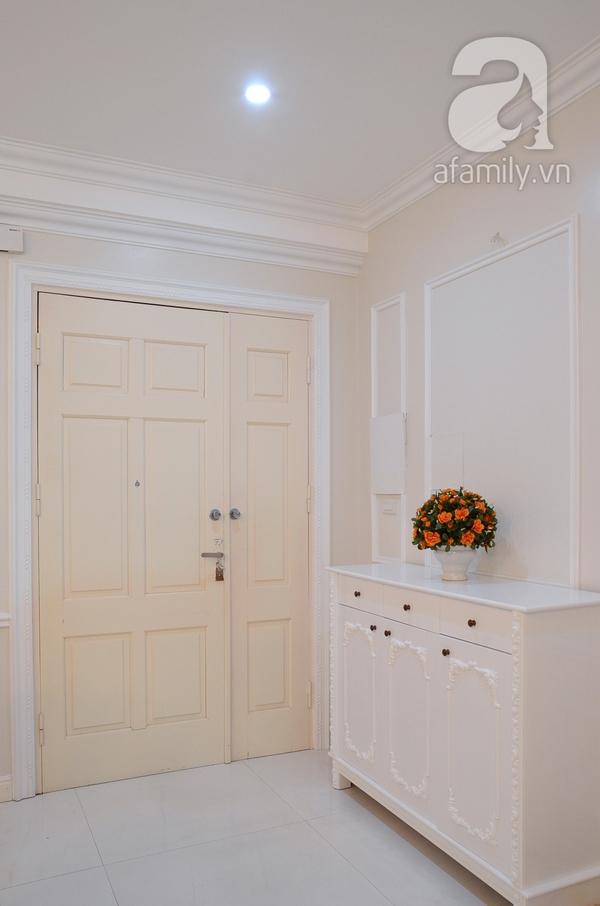 Ngắm căn hộ màu trắng 4 phòng ngủ sang trọng giữa lòng Hà Nội 1