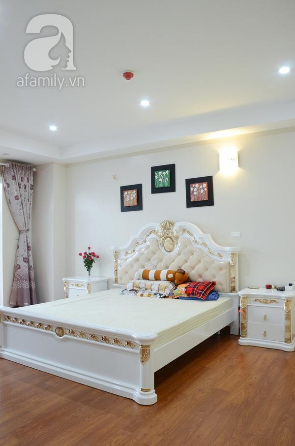 Ngắm căn hộ màu trắng 4 phòng ngủ sang trọng giữa lòng Hà Nội 14