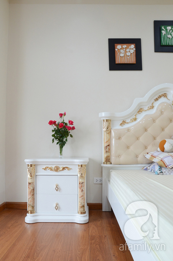 Ngắm căn hộ màu trắng 4 phòng ngủ sang trọng giữa lòng Hà Nội 16