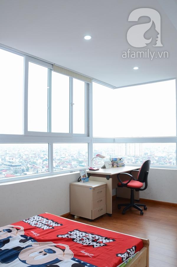 Ngắm căn hộ màu trắng 4 phòng ngủ sang trọng giữa lòng Hà Nội 20