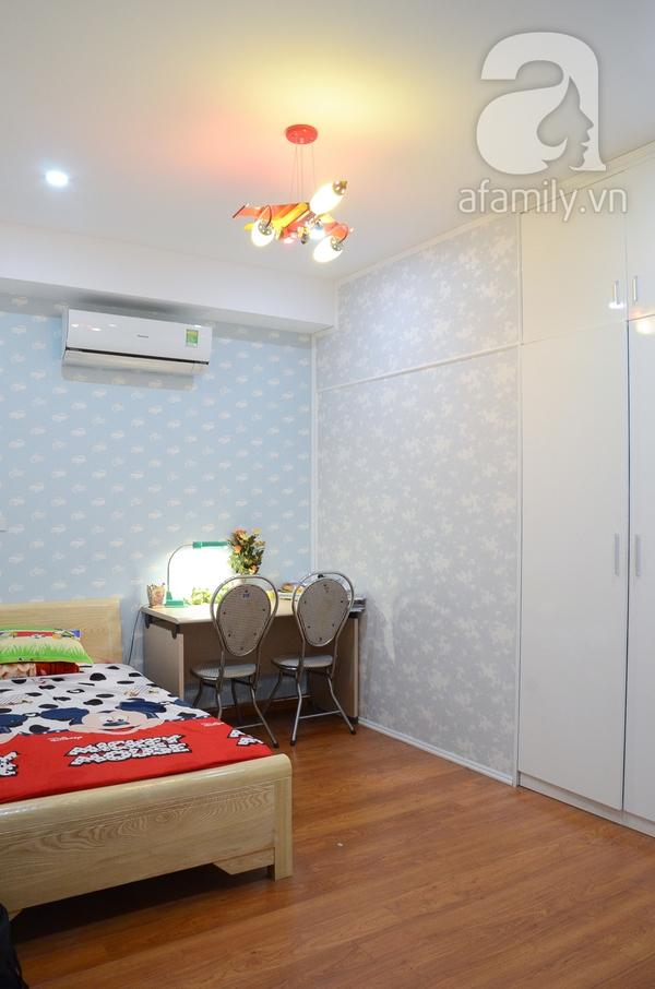 Ngắm căn hộ màu trắng 4 phòng ngủ sang trọng giữa lòng Hà Nội 23