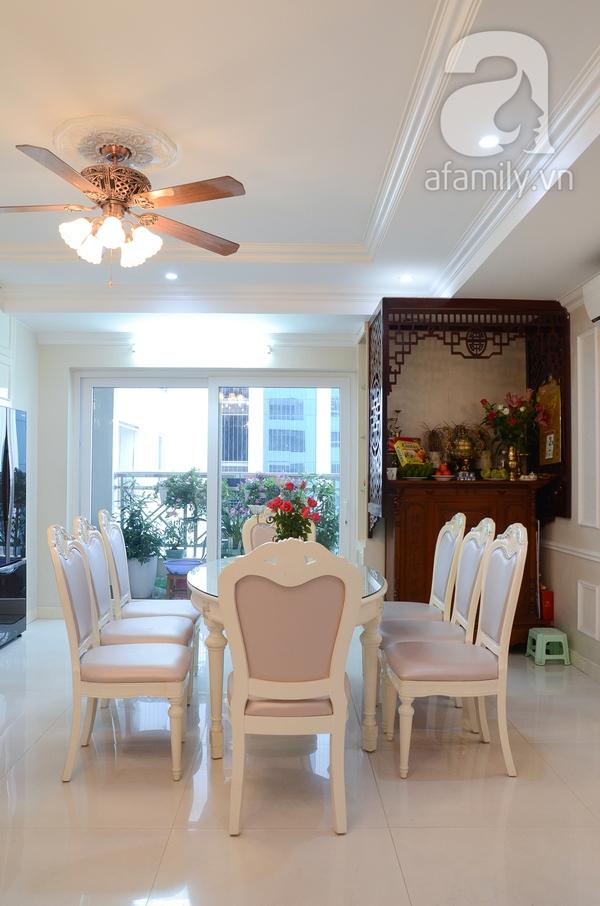 Ngắm căn hộ màu trắng 4 phòng ngủ sang trọng giữa lòng Hà Nội 8
