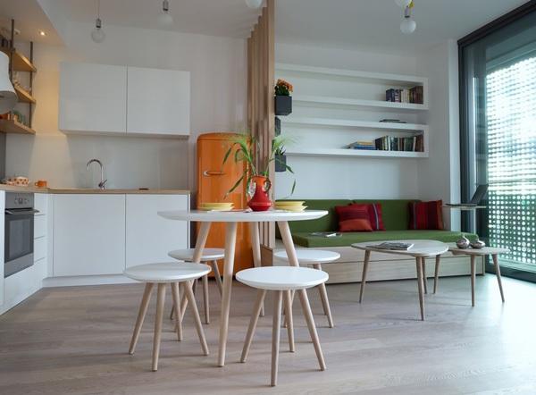 Ngắm căn hộ 30m² có ban-công lãng mạn của đôi vợ chồng trẻ 3