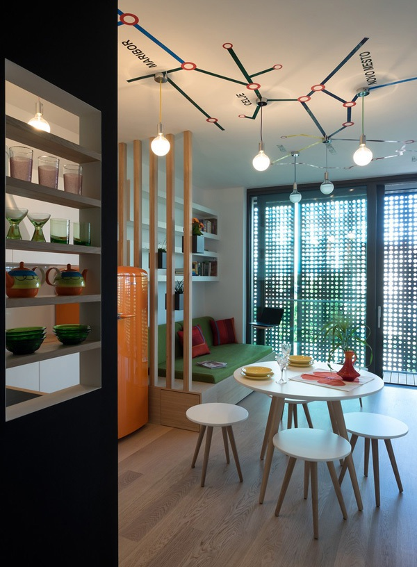 Ngắm căn hộ 30m² có ban-công lãng mạn của đôi vợ chồng trẻ 4