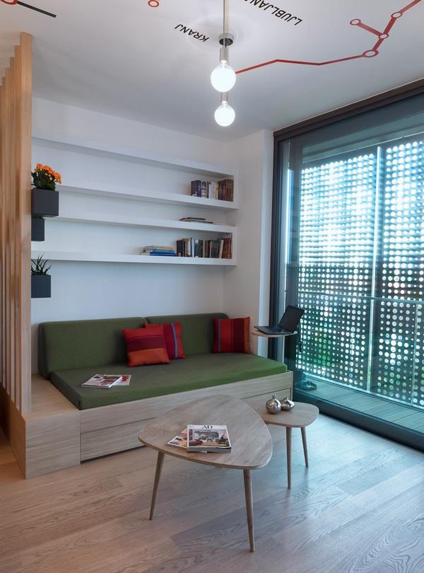 Ngắm căn hộ 30m² có ban-công lãng mạn của đôi vợ chồng trẻ 5