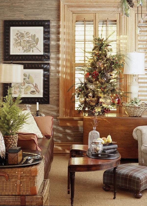 Ngắm ngôi nhà trang trí Noel ấn tượng đến từng chi tiết 10