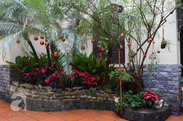 Hơi thở Giáng sinh tràn ngập trong ngôi nhà ở An Dương, Hà Nội 1