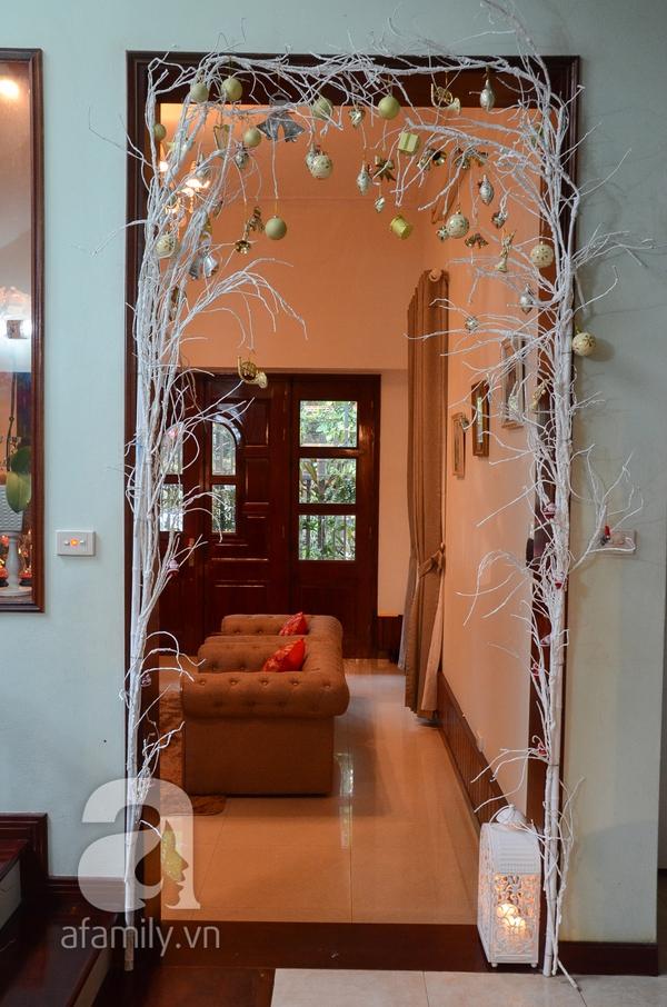 Hơi thở Giáng sinh tràn ngập trong ngôi nhà ở An Dương, Hà Nội 10