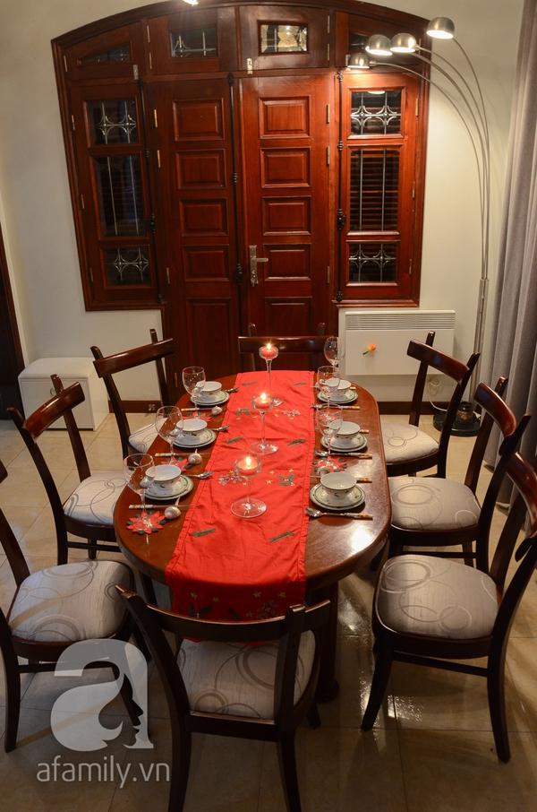 Hơi thở Giáng sinh tràn ngập trong ngôi nhà ở An Dương, Hà Nội 13