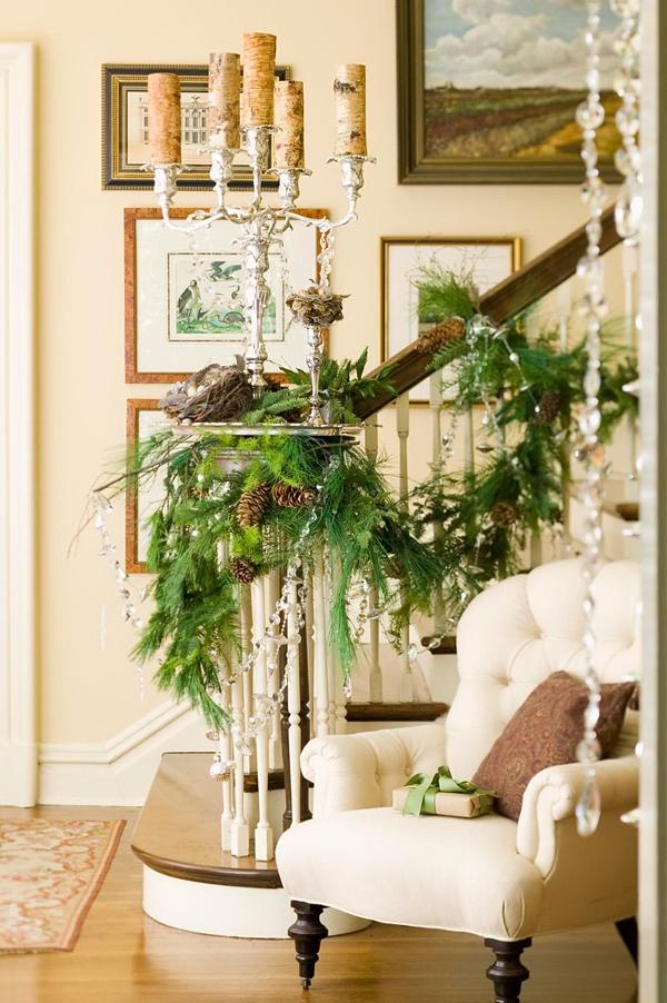 Ngắm ngôi nhà trang trí Noel ấn tượng đến từng chi tiết 3