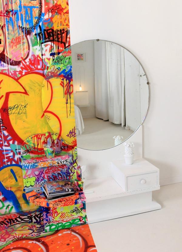 Đẹp – độc – lạ với phong cách Graffiti trang trí nhà  5