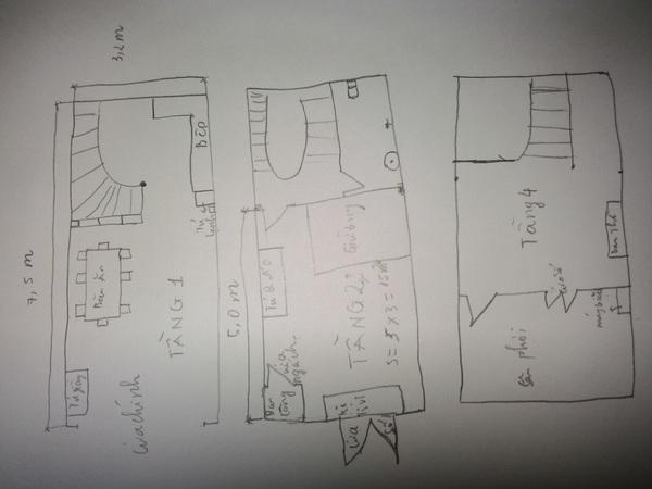 Tư vấn cải tạo và bố trí nội thất cho nhà lô có diện tích rộng 24m² 1