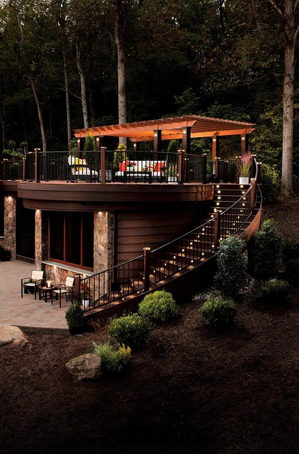 20 gợi ý lý thú về thiết kế sàn gỗ ngoài trời 1