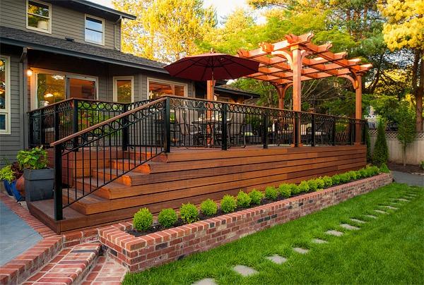 20 gợi ý lý thú về thiết kế sàn gỗ ngoài trời 11