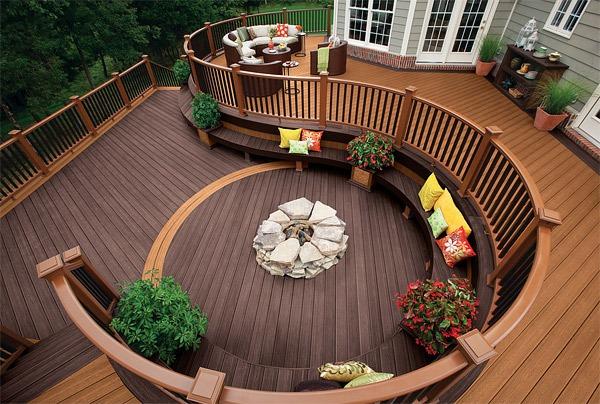 20 gợi ý lý thú về thiết kế sàn gỗ ngoài trời 13