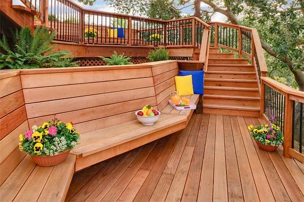 20 gợi ý lý thú về thiết kế sàn gỗ ngoài trời 18