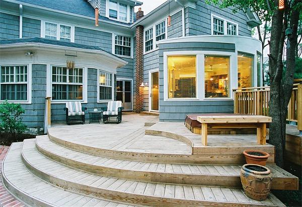 20 gợi ý lý thú về thiết kế sàn gỗ ngoài trời 19