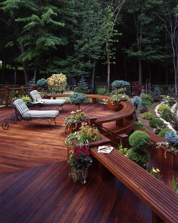 20 gợi ý lý thú về thiết kế sàn gỗ ngoài trời 2