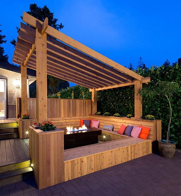 20 gợi ý lý thú về thiết kế sàn gỗ ngoài trời 3