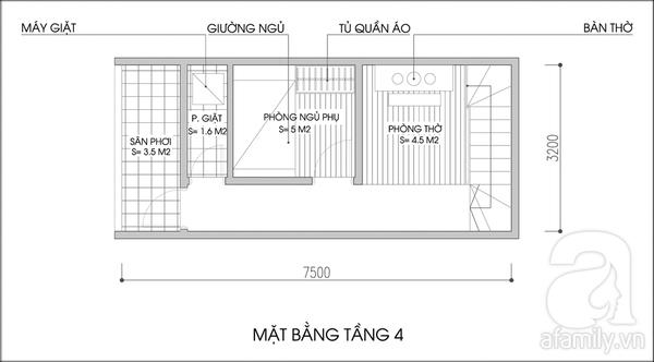 Tư vấn cải tạo và bố trí nội thất cho nhà lô có diện tích rộng 24m² 4