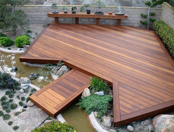 20 gợi ý lý thú về thiết kế sàn gỗ ngoài trời 4