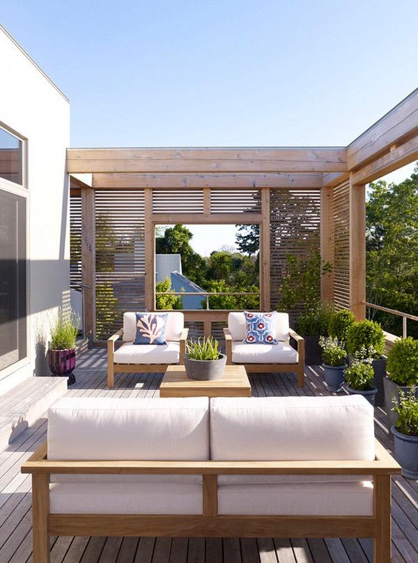 20 gợi ý lý thú về thiết kế sàn gỗ ngoài trời 5