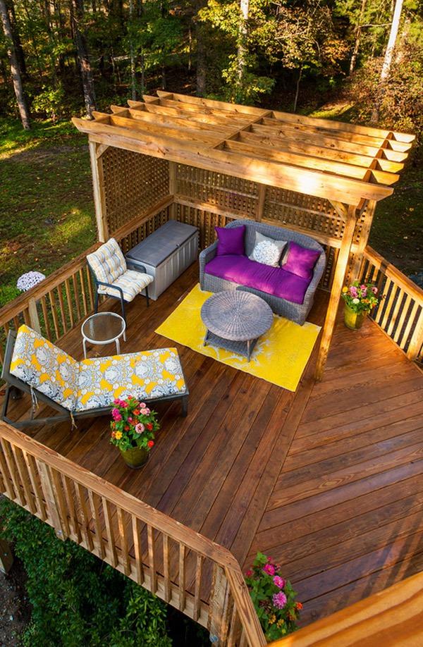20 gợi ý lý thú về thiết kế sàn gỗ ngoài trời 6