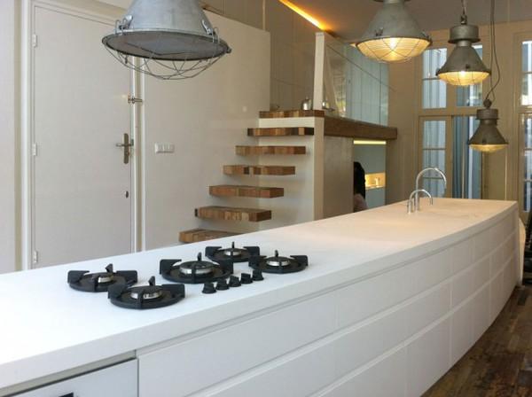 """Thích thú với nội thất phòng bếp được thiết kế """"lơ lửng"""" đầy nghệ thuật 11"""