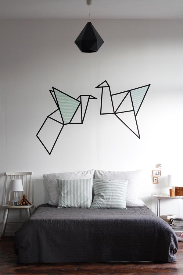 Ý tưởng trang trí nhà nhanh và đẹp với băng dính washi  6
