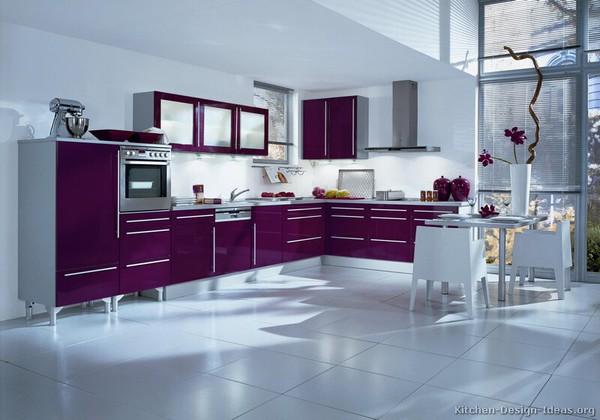 Những thiết kế bếp màu tím đẹp ngoài sức tưởng tượng 1